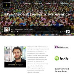#15 - Vincent Liegey : décroissance - Sismique
