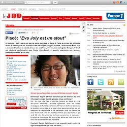 """Placé: """"Eva Joly est un atout"""" - jean-vincent placé eva Joly europe écologie journées d'été"""
