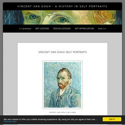 Vincent Van Gogh - A History in Self Portraits