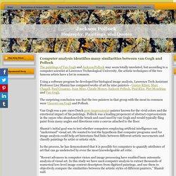 Vincent van Gogh and Jackson Pollock