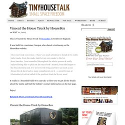 Vincent the House Truck by HouseBox