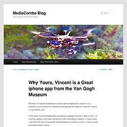 Blog » Archives » Why Yours, Vincent is a Great iphone app fr