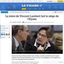 La mère de Vincent Lambert fait le siège de l'Elysée