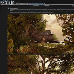 Vincent Mayeur - Portfolio - 3D Artist