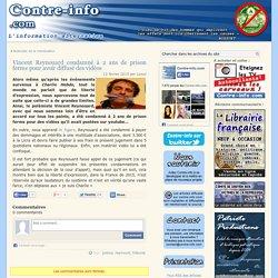 Vincent Reynouard condamné à 2 ans de prison ferme pour avoir diffusé des vidéos