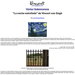 Vincent van Gogh: Visitor Submissions