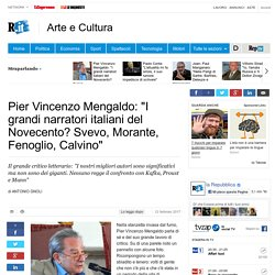 """Pier Vincenzo Mengaldo: """"I grandi narratori italiani del Novecento? Svevo, Morante, Fenoglio, Calvino"""""""