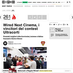 Next Cinema, i vincitori del contest Ultracorti
