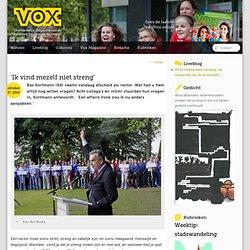 VOX: Open vraag aan de Rector magnificus to bee