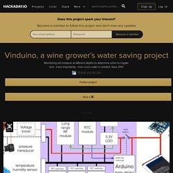 Vinduino, a wine grower's water saving project