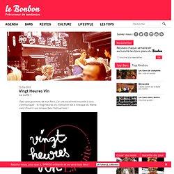 Vingt Heures Vin, la suite, EST, bons plans, bar à vins, bar, Paris 11ème