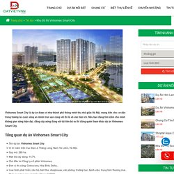 Khu đô thị Vinhomes Smart City - Hotline 0943 863 399