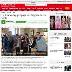 Le Vinocamp propage l'armagnac sur la Toile - 06/12/2014 - LaDepeche.fr