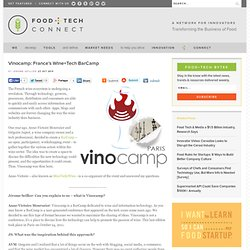 Vinocamp: France's Wine+Tech BarCamp