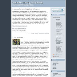 VinoCibo.com by Craig Camp