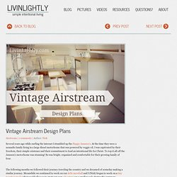 Vintage Airstream Design Plans
