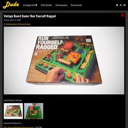 Vintage Board Game: Run Yourself Ragged