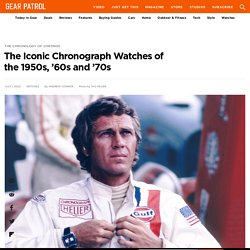 5 Iconic Vintage Mid-Century Chronograph Watches