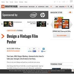 Design a Vintage Film Poster
