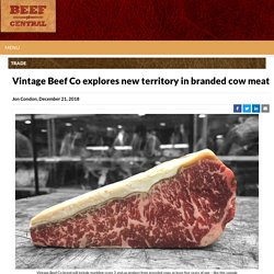 Vintage Beef Co explores new territory in branded cow meat