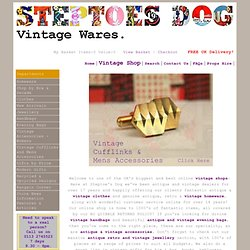 Steptoes Dog Vintage Wares Online Shop