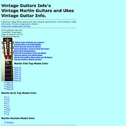 Vintage Guitars Info - Martin collecting vintage martin guitars