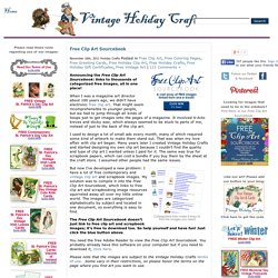 Free Book: Free Online Clipart Sourcebook