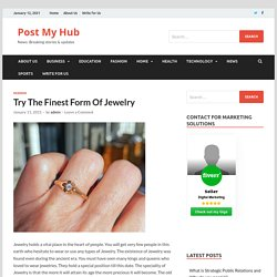 Vintage jewelry : Try The Finest Form Of Jewellery
