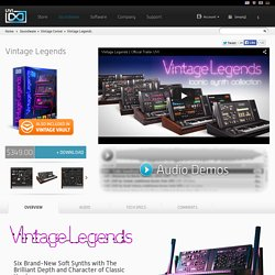 Vintage Legends - Vintage Synths Library