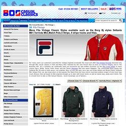 Fila Vintage, Fila Track Top, Polo Shirt, Shorts, Hood, T-shirts