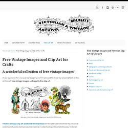 Miss Mary: Free Vintage Clip Art