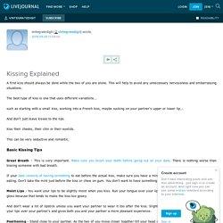 Kissing Explained: vintegratedigit — LiveJournal