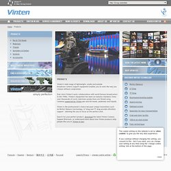 Products | www.vinten.com