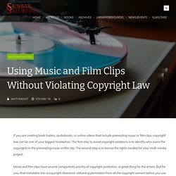 05.Info & Resource.Using Music and Film Clips Without Violating Copyright Law