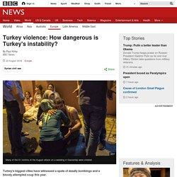 Turkey violence: How dangerous is instability?