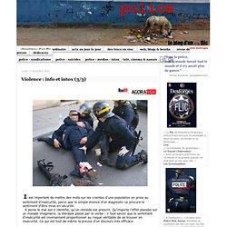 Violence : info et intox (3/3)
