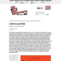 Violence parentale