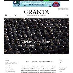 Violence in Blue