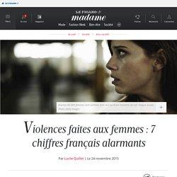 Violences faites aux femmes : 7 chiffres français alarmants