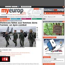 Violences faites aux femmes dans l'armée: un âpre combat
