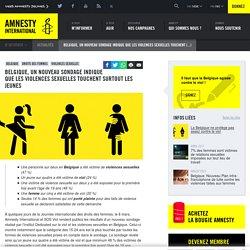 Belgique, Un nouveau sondage indique que les violences sexuelles touchent surtout les jeunes - Amnesty International Belgique