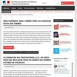 Lutte contre les violences – Ministère des Familles, de l'Enfance et des Droits des femmes