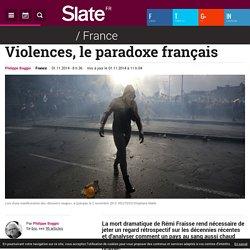 Violences, le paradoxe français