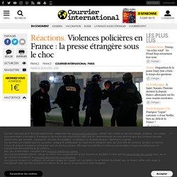 Violences policières en France: la presse étrangère sous le choc
