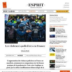 Les violences policières en France