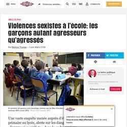 Violences sexistes à l'école: les garçons autant agresseurs qu'agressés