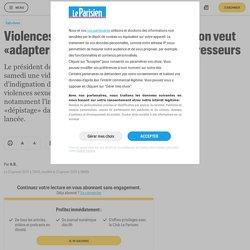 Violences sexuelles sur mineurs : Macron veut «adapter notre droit» pour punir les agresseurs - Le Parisien