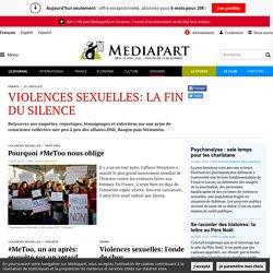 Violences sexuelles: la fin du silence