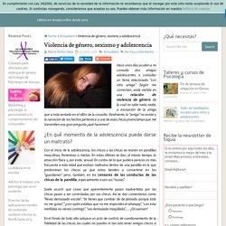 Violencia de género, sexismo y adolescencia
