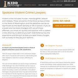 Violent Crimes Attorney